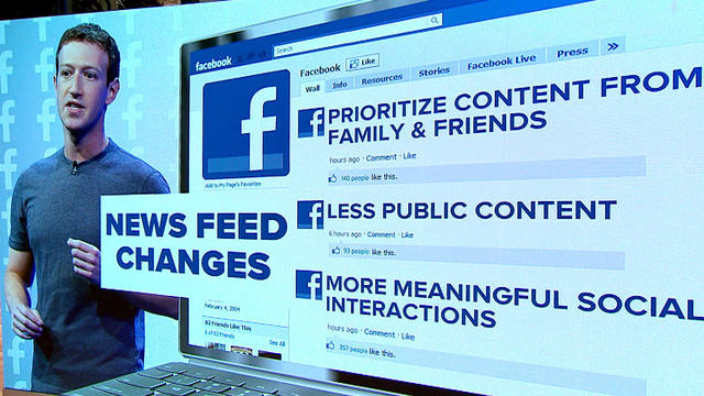 Facebook Changes in News feed 2018