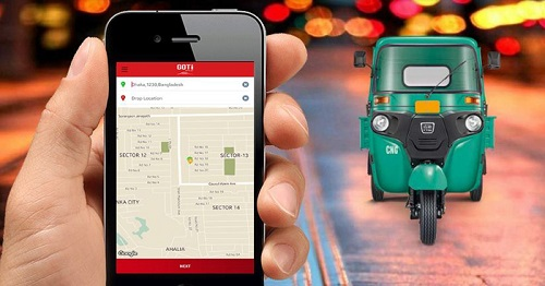 Auto Rickshaw Ride Sharing App Hello