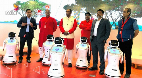 Robi Service Boot Robot 2018